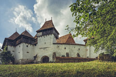 Fortified Church in Viscri, Romania Royalty Free Stock Photos