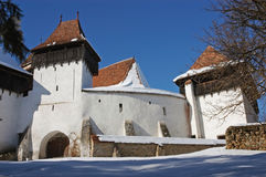 Fortified church of Viscri, Transylvania Stock Photography