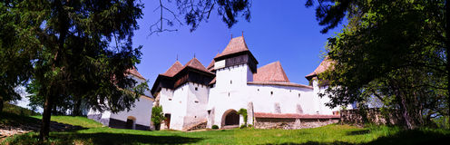 The Fortified Church from Viscri, Transylvania Royalty Free Stock Images