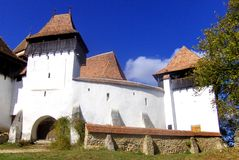 Fortified church in Viscri Stock Photography