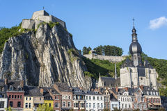 Fortified Citadel in Dinant, Belgium Stock Photo