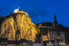 Fortified Citadel in Dinant, Belgium Royalty Free Stock Photos