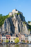Fortified Citadel in Dinant, Belgium Royalty Free Stock Photography