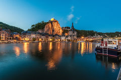 Fortified Citadel in Dinant, Belgium Royalty Free Stock Images