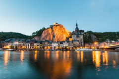 Fortified Citadel in Dinant, Belgium Stock Images