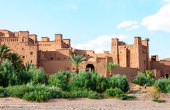 Fortified city of Ait Ben Haddou (Morocco). Fortified city of Ait Ben Haddou, UNESCO World Heritage (Morocco royalty free stock photography