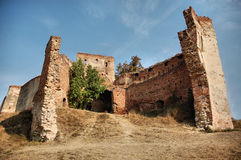 Fortified Fortress. An old fortified fortress in blue sky Stock Photo