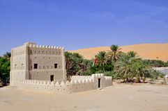 Fortified home, Liwa Royalty Free Stock Photo