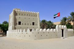 Fortified home, Liwa Stock Images