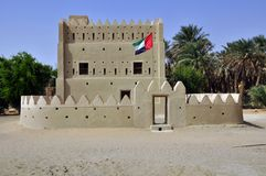 Fortified home, Liwa Royalty Free Stock Images