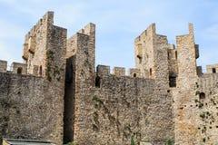 Fortified Manasija Monastery. MANASIJA MONASTERY, SERBIA  - MAY 5, 2018 : Serbian medieval fortification, Fortified Manasija Monastery, Editorial use only Royalty Free Stock Images