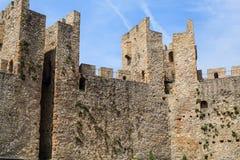 Fortified Manasija Monastery. MANASIJA MONASTERY, SERBIA  - MAY 5, 2018 : Serbian medieval fortification, Fortified Manasija Monastery, Editorial use only Royalty Free Stock Photos