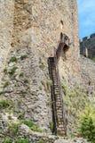 Fortified Manasija Monastery. MANASIJA MONASTERY, SERBIA  - MAY 5, 2018 : Serbian medieval fortification, Fortified Manasija Monastery, Editorial use only Stock Photos