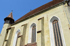 Fortified medieval church Biertan, Transylvania. Royalty Free Stock Photo