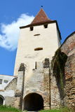 Fortified medieval church Biertan, Transylvania. Royalty Free Stock Images