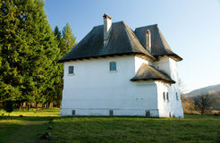 Fortified Romanian villa Royalty Free Stock Photo