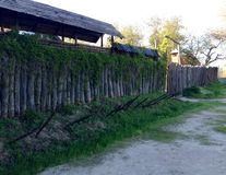 Fortified settlement ukrainian cossacks Stock Photo