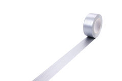 Fortified Silver Adhesive Tape Royalty Free Stock Photos
