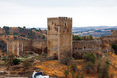 Fortified stone tower Royalty Free Stock Photography