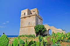 Fortified tower Stock Photos
