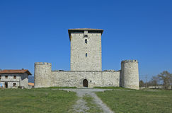 The fortified tower of Mendoza (XIII century) Royalty Free Stock Photos