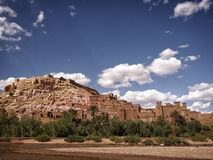 Fortified town of Ait ben Haddou Royalty Free Stock Images
