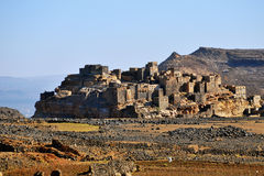 Fortified village in Yemen Stock Photo