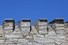 Fortified wall Stock Image