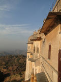 Fortified walls of  Kumbhalgarh Fort Royalty Free Stock Photography