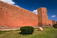 Fortified walls of Marrakech Royalty Free Stock Image