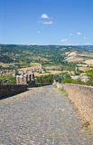 Fortified walls. Orvieto. Umbria. Italy. Royalty Free Stock Images