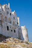 Fortified walls. Ostuni. Puglia. Italy. Stock Photography