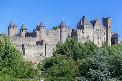 Carcassone Medieval City France Stock Images