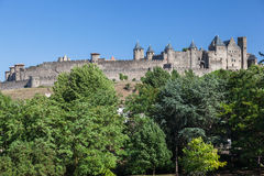 Carcassone Medieval City France Stock Photo