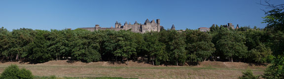 Carcassone Medieval City France Royalty Free Stock Photography