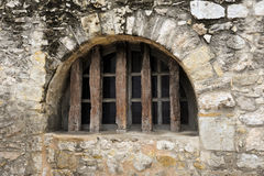 Fortified Window Royalty Free Stock Photo