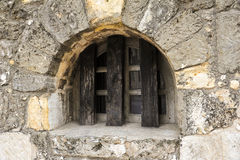 Fortified Window Royalty Free Stock Image