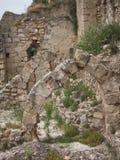 Fortifique em Jativa, Valência y Múrcia, Espanha Fotos de Stock
