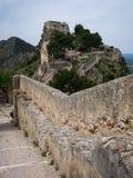 Fortifique em Jativa, Valência y Múrcia, Espanha Imagem de Stock