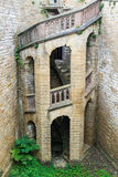 Fortifique a escadaria Fotografia de Stock