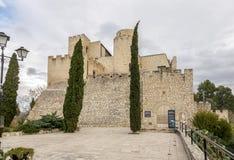 Fortifique-me em Castellet la Gornal do lago catalonia Imagens de Stock Royalty Free