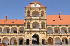 Fortifique Moravska Trebova fotografia de stock royalty free