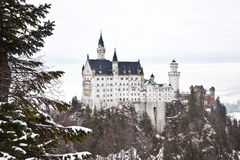 Castelo Neuschwanstein em Alemanha Fotos de Stock Royalty Free