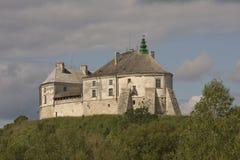 Fortifique Olesko, região de Ucrânia ocidental, Lviv Fotografia de Stock