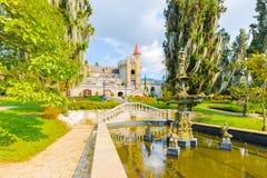 Fortifique a opinião do museu do jardim Medellin Colômbia Imagens de Stock Royalty Free