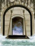 Fortifique a ponte ilustração do vetor