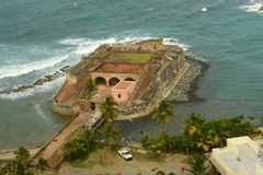 Fortin DE San Gerà ³ nimo DE Boquerà ³ n, San Juan Royalty-vrije Stock Afbeelding