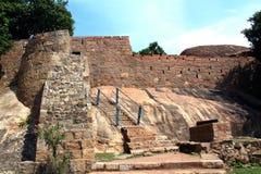 Fortingang met kanon Royalty-vrije Stock Foto