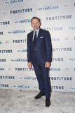 Fortitude' - UK Premiere - Arrivals. LONDON, ENGLAND - JANUARY 14: Christopher Eccleston attends the UK Premiere of Sky Atlantic's 'Fortitude' on January 14 Royalty Free Stock Images
