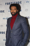 Fortitude' - UK Premiere - Arrivals. LONDON, ENGLAND - JANUARY 14: nicholas pinnock attends the UK Premiere of Sky Atlantic's 'Fortitude' on January 14, 2015 in Royalty Free Stock Photos